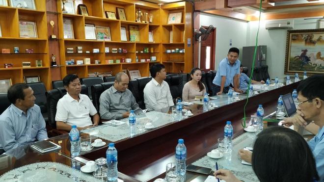 HDPharma tiep don dai bieu Bo Y te Campuchia va Karuna Pharma hinh anh 1