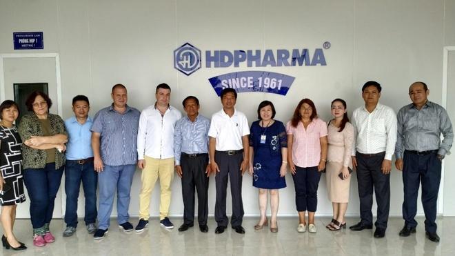 HDPharma tiep don dai bieu Bo Y te Campuchia va Karuna Pharma hinh anh 2