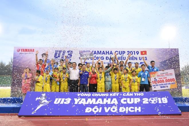 Chung ket U13 Yamaha Cup 2019 - man so tai can suc cua tuyen thu nhi hinh anh 5