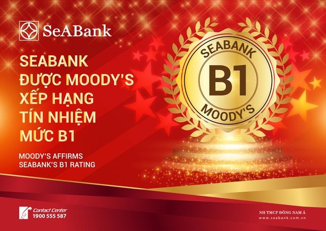 Moody's xep SeABank hang tin nhiem B1 hinh anh 2