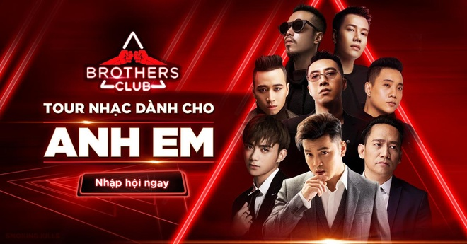 Tour nhac 'Brothers Club 2019' - gan ket tinh anh em cung sao Viet hinh anh 1