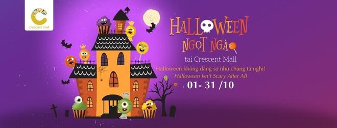 Don le hoi Halloween ngot ngao tai Crescent Mall hinh anh 1