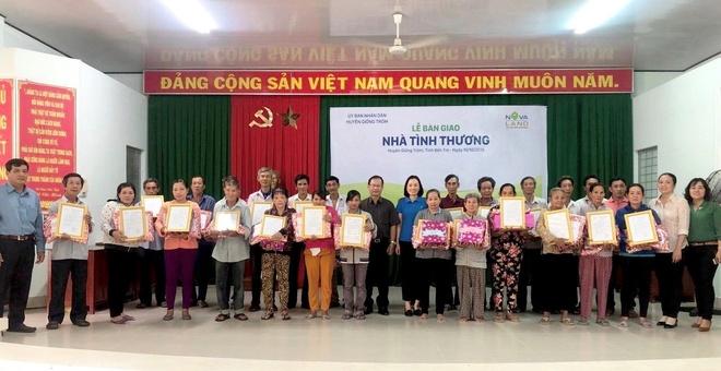 Tap doan Novaland nhan giai doanh nghiep Viet Nam xuat sac chau A 2019 hinh anh 3