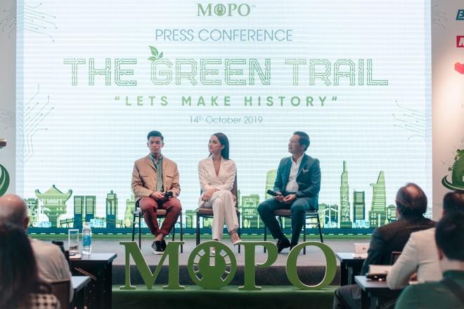 Khoi dong cuoc dua xe may dien 'The Green Trail - Cung duong xanh' hinh anh 1