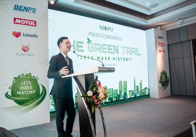 Khoi dong cuoc dua xe may dien 'The Green Trail - Cung duong xanh' hinh anh 3