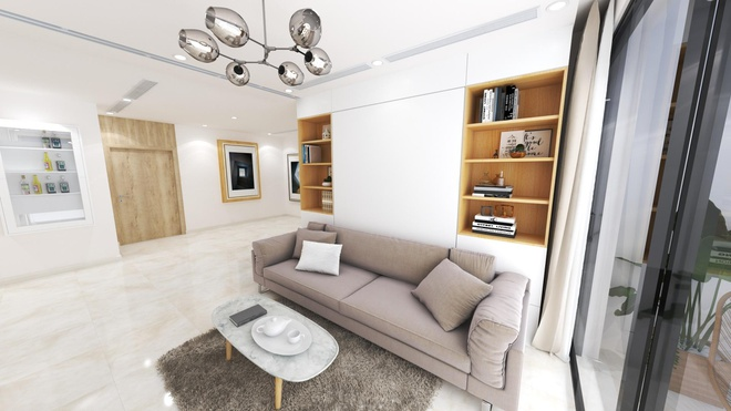 Flex apartment - can ho ung dung noi that toi gian hut nguoi mua hinh anh 4