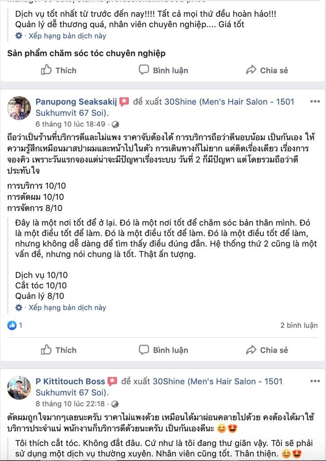 30Shine mo chi nhanh Thai Lan, hut khach ngay khi vua mo cua hinh anh 6
