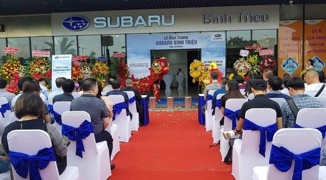 Subaru Viet Nam dong loat mo 3 dai ly uy quyen trong thang 10 hinh anh 2