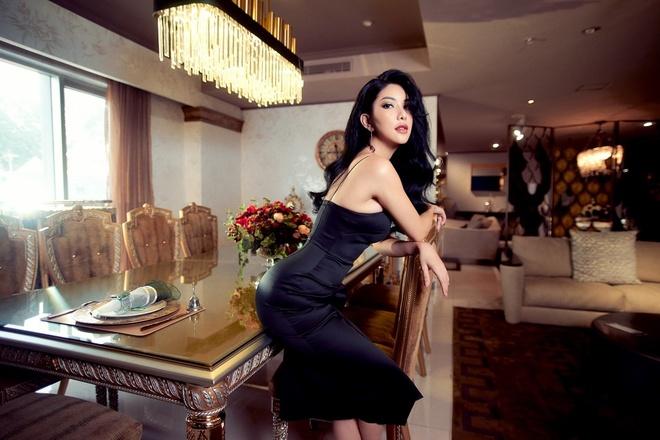 HH Quy ba Loan Vuong 'phai long' khong gian noi that cua An Duong Home hinh anh 6