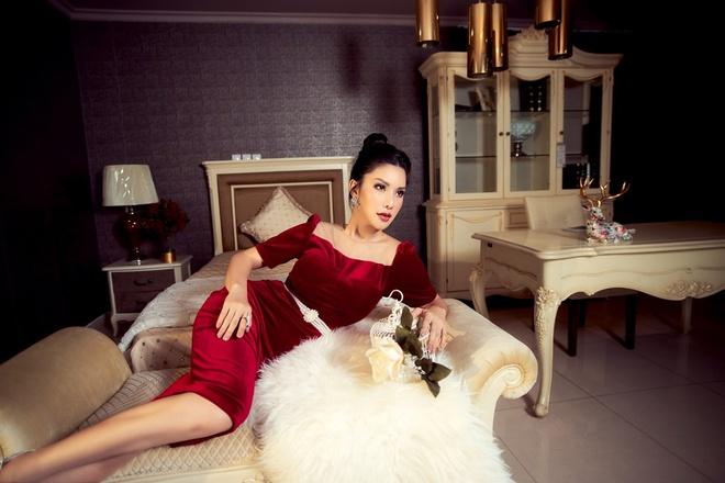 HH Quy ba Loan Vuong 'phai long' khong gian noi that cua An Duong Home hinh anh 5