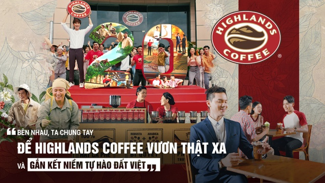 Niem tu hao dat Viet song dong trong clip Highlands Coffee don tuoi 20 hinh anh 1