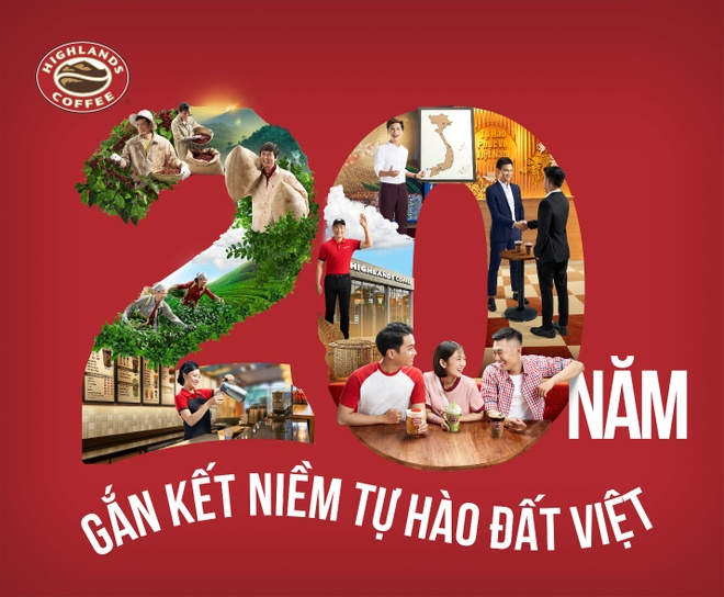 Niem tu hao dat Viet song dong trong clip Highlands Coffee don tuoi 20 hinh anh 2