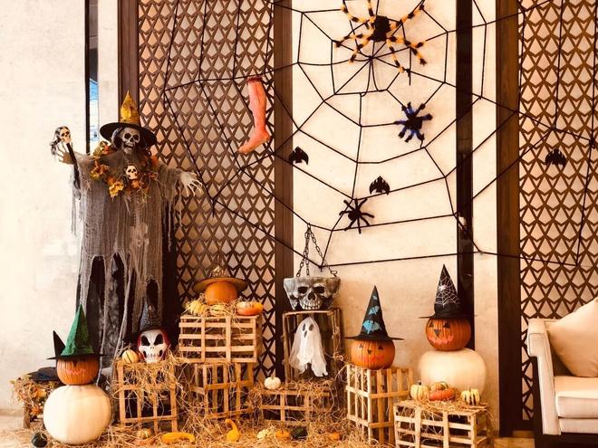 Tham bao tang bi ngo dac biet tai Vinpearl mua Halloween hinh anh 11