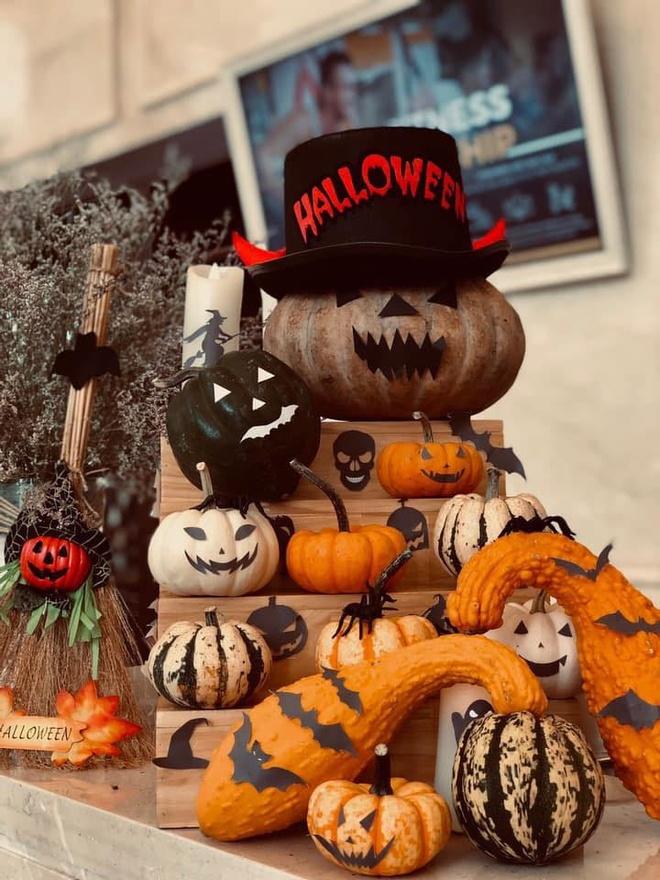 Tham bao tang bi ngo dac biet tai Vinpearl mua Halloween hinh anh 12
