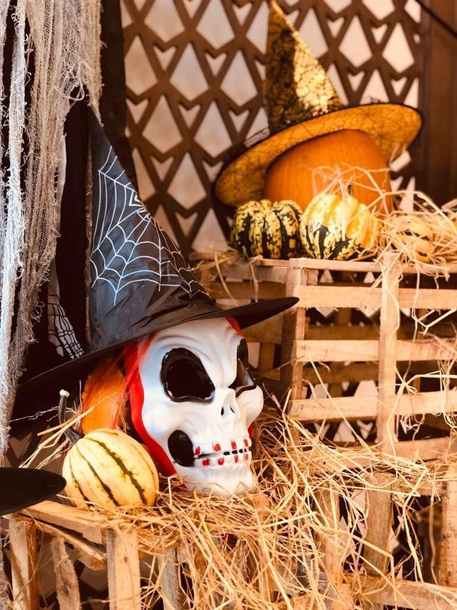 Tham bao tang bi ngo dac biet tai Vinpearl mua Halloween hinh anh 13