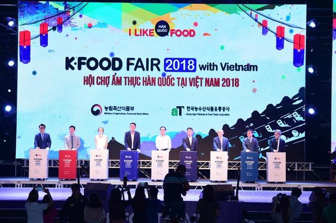 K-Food Fair 2019 - su kien dang mong cho tai TP.HCM thang 11 nay hinh anh 2