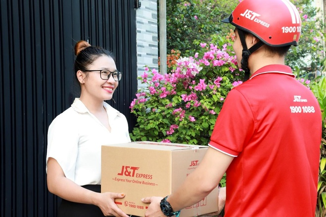J&T Express - giai phap ho tro ban hang online hieu qua mua sale hinh anh 1