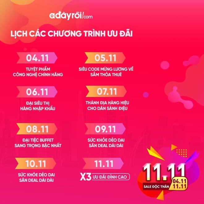 Tuan le doc than khong co don voi uu dai 49% tu Adayroi hinh anh 1