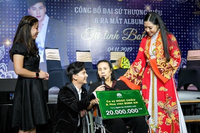 Ca si Ngoc Chau lam dai su thuong hieu cho Hoa vien Binh An Long Thanh hinh anh 4