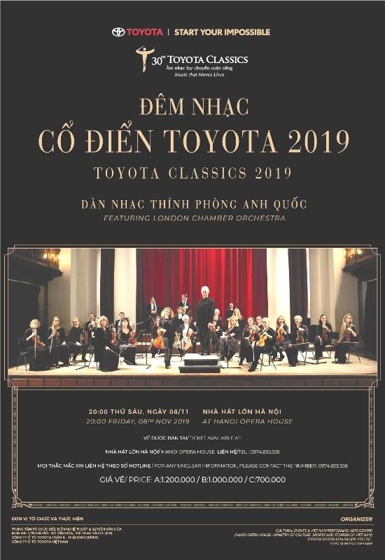 Dan nhac London Chamber Orchestra mang gi den Toyota Classics 2019? hinh anh 1