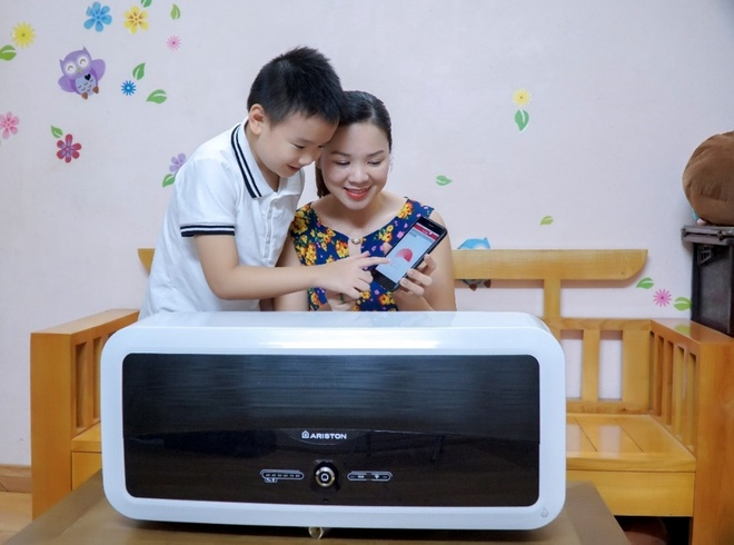 may nuoc nong tich hop wifi thong minh,  The Aristo anh 5