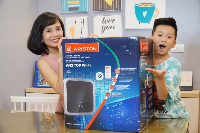 may nuoc nong tich hop wifi thong minh,  The Aristo anh 6