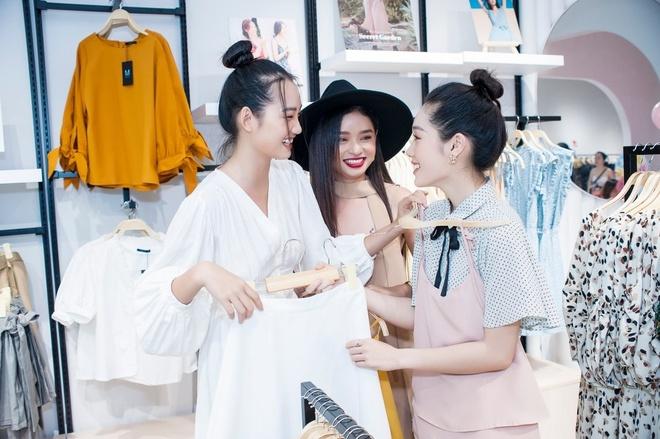 Quynh Anh tro tai lam stylist cho Tram Anh, Nhu My tai Maybi hinh anh 2