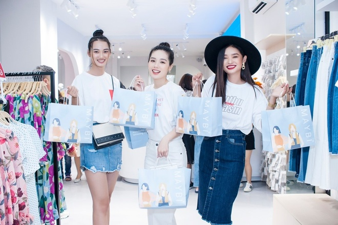 Quynh Anh tro tai lam stylist cho Tram Anh, Nhu My tai Maybi hinh anh 3