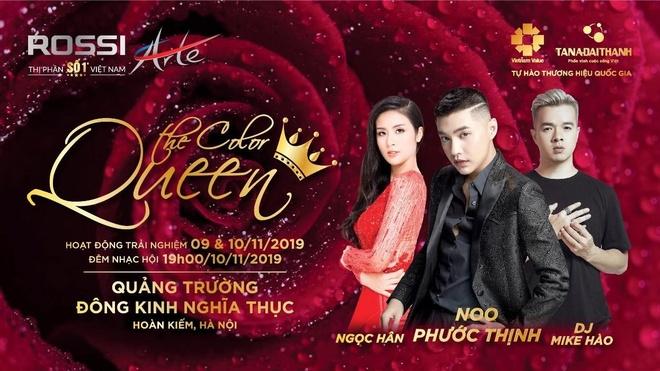 Le hoi ton vinh phu nu 'The color queen' sap dien ra tai Ha Noi hinh anh 1