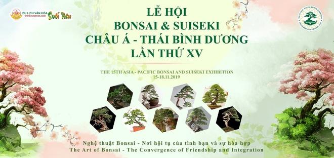 Le hoi Bonsai va Suiseki chau A - Thai Binh Duong tai Suoi Tien hinh anh 1
