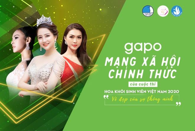 Gapo - mang xa hoi chinh thuc cua Hoa khoi sinh vien Viet Nam 2020 hinh anh 2