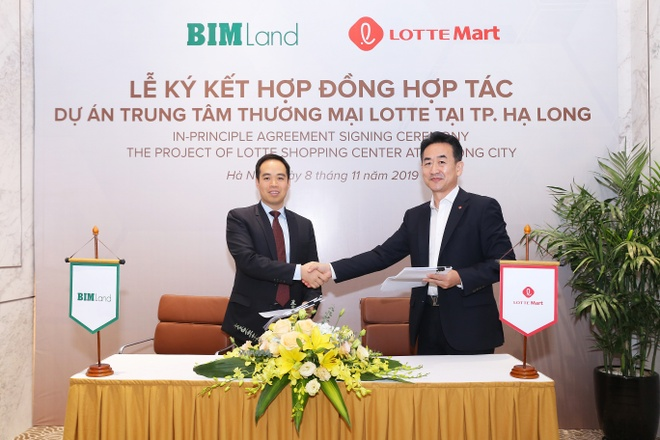 BIM Land bat tay Lotte xay dung TTTM tai Ha Long hinh anh 1