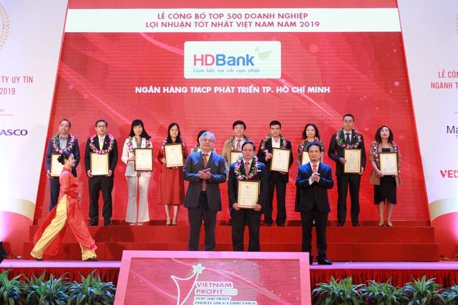 HDBank vao top 10 ngan hang co loi nhuan tot nhat hinh anh 1