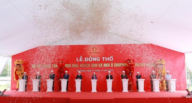 Ha Giang sap co trung tam thuong mai voi dien tich san hon 4.000 m2 hinh anh 1