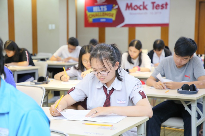 Hon 500 hoc sinh tham gia cuoc thi 'IELTS Challenge 2019' hinh anh 1