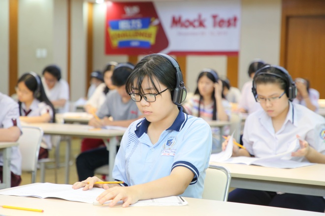 Hon 500 hoc sinh tham gia cuoc thi 'IELTS Challenge 2019' hinh anh 2