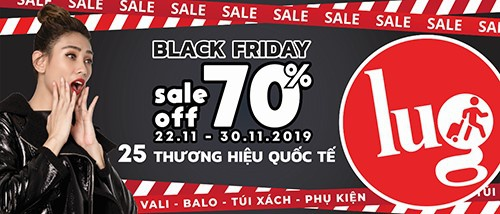 25 thuong hieu hanh ly quoc te dong loat giam 70% tai Lug hinh anh 1