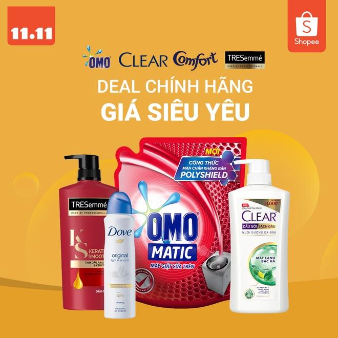 Don hang Unilever VN tang hon 20 lan tai su kien mua sam 11/11 hinh anh 1