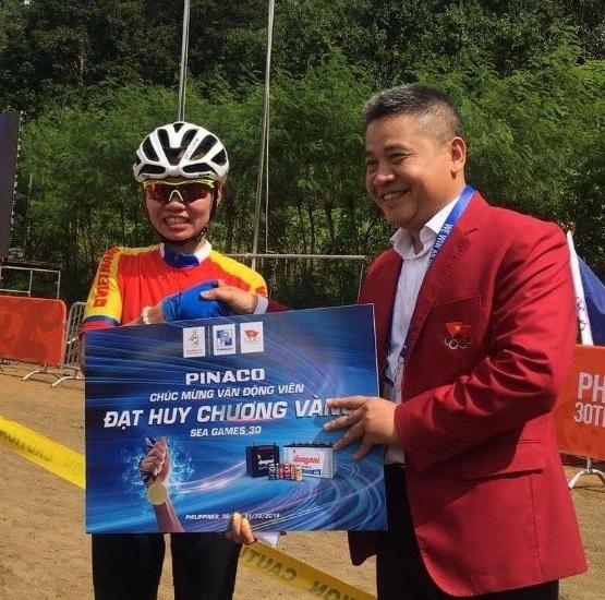 Pinaco tang thuong cho tat ca VDV doat huy chuong vang SEA Games 2019 hinh anh 4