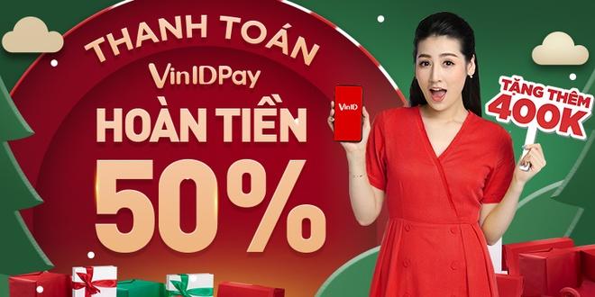VinID Pay hoan tien den 50%, uu dai 500.000 dong hinh anh 1
