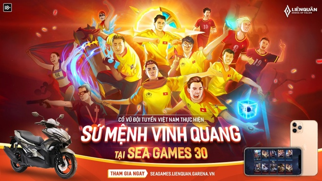 Lien Quan Mobile - ngon co dau cua the thao dien tu Viet Nam hinh anh 3