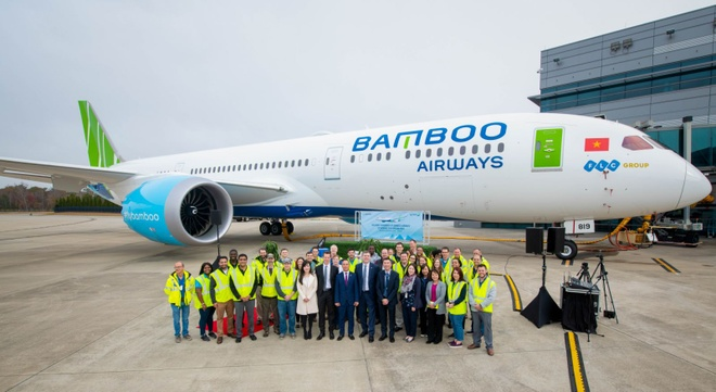 Boeing 787-9 Dreamliner gia nhap doi bay Bamboo Airways hinh anh 1