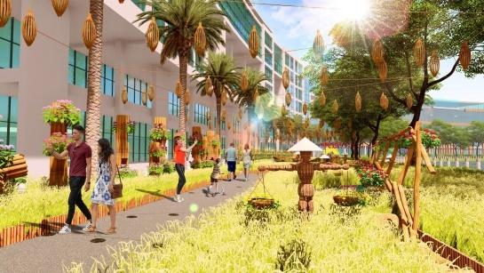 Hội hoa xuân Phú Mỹ Hưng là một trong những hội hoa xuân trọng điểm của TP.HCM, thu hút khoảng 1,5 triệu lượt khách.