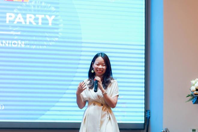 Chị Ngô Thùy Ngọc Tú, đồng sáng lập YOLA.