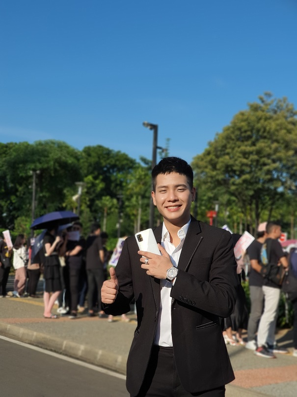 Bieu cam de thuong cua BlackPink tai fan meeting, ra mat Galaxy A71 hinh anh 5 20200114_162802.jpg