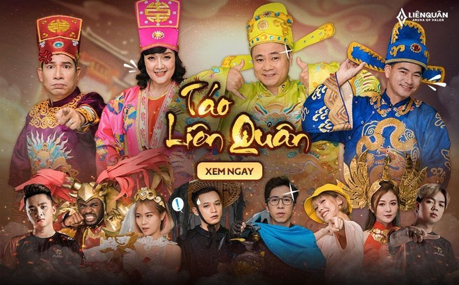 Xuan Bac, Tu Long, Van Dung gop mat trong Tao Lien Quan hinh anh 2 image003_3.jpg