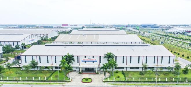 Nhà máy sản xuất nhíp ôtô rộng 2 ha của Thaco tại Chu Lai.