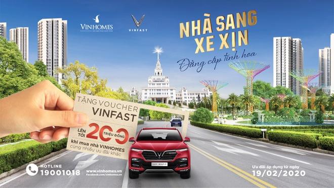 Mua nha Vinhomes nhan voucher xe VinFast toi 200 trieu hinh anh 1 Anh_1_1_.jpg
