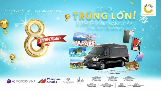 Crescent Mall trao xe limousine 2,1 ty cho khach trung giai vang hinh anh 4 4.jpg