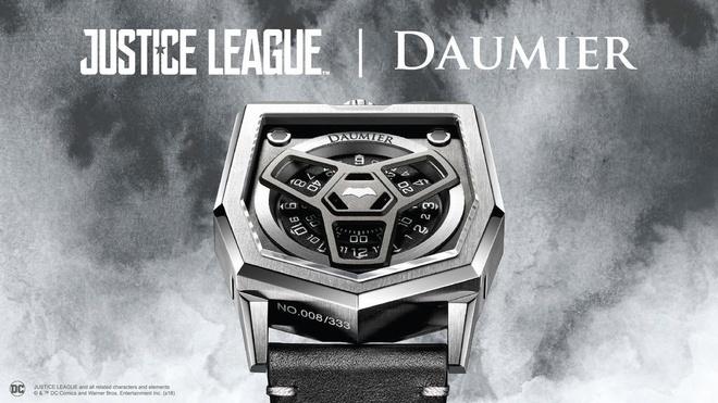 Dong ho Daumier Justice League ban gioi han len ke The Gioi Di Dong hinh anh 1 2_2.jpg